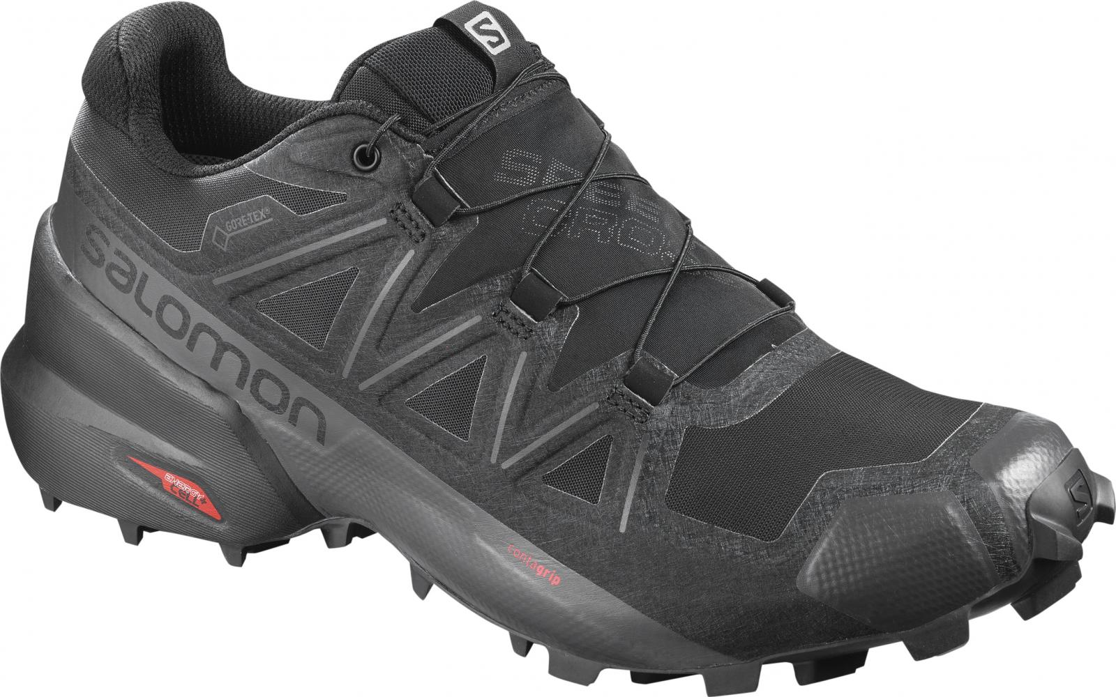 Trailová obuv Salomon SPEEDCROSS 5 GTX Black / Black / Phantom