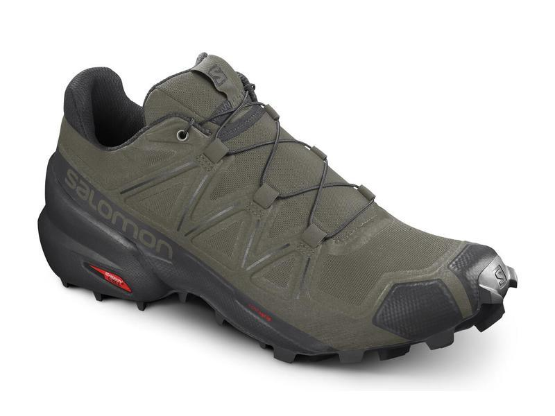 Pánska trailová obuv Salomon SPEEDCROSS 5 Grape Leaf / Black / Phantom