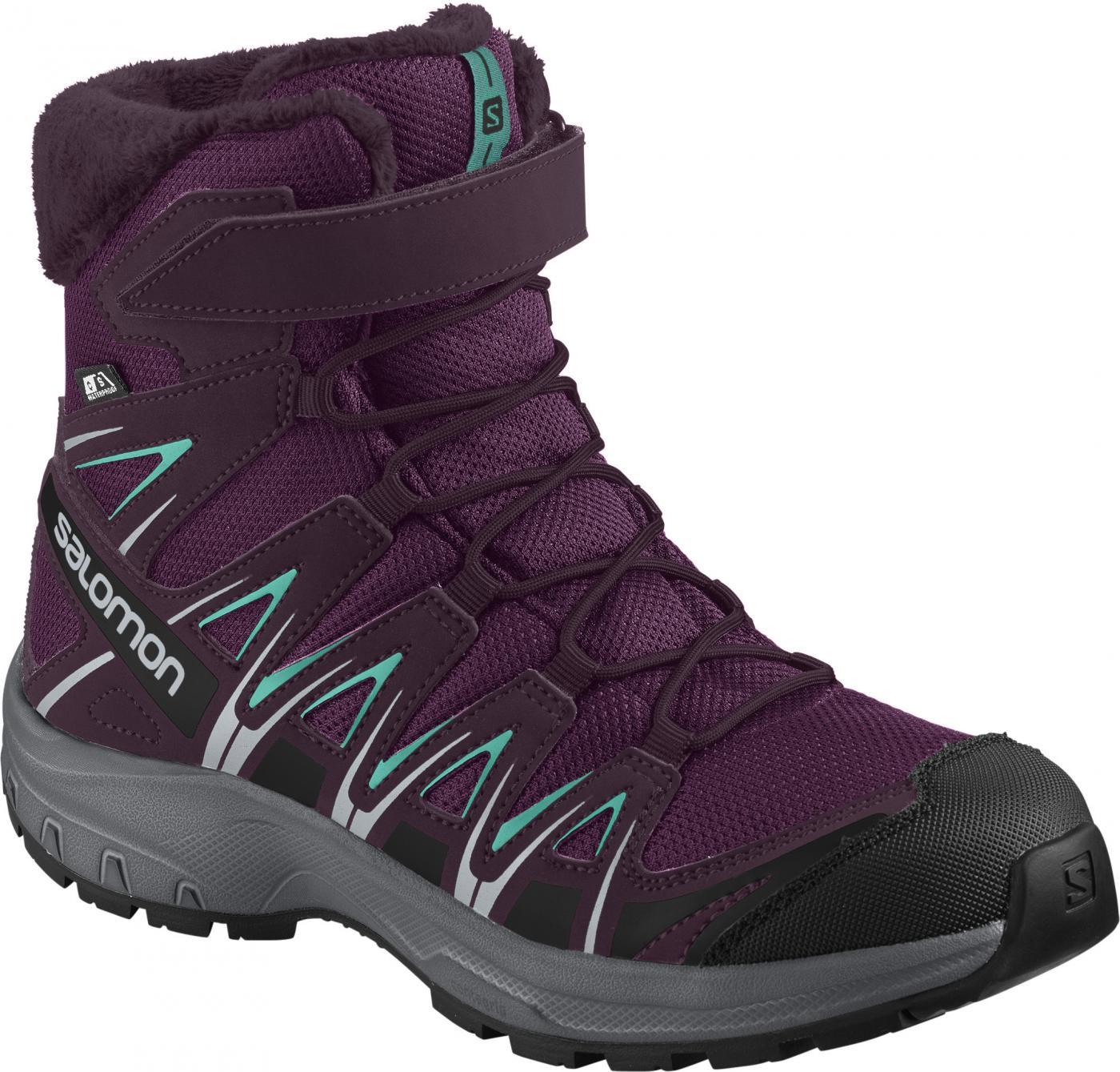 71acfe6f25f Detská obuv XA PRO 3D WINTER TS CSWP J Darkpurpl