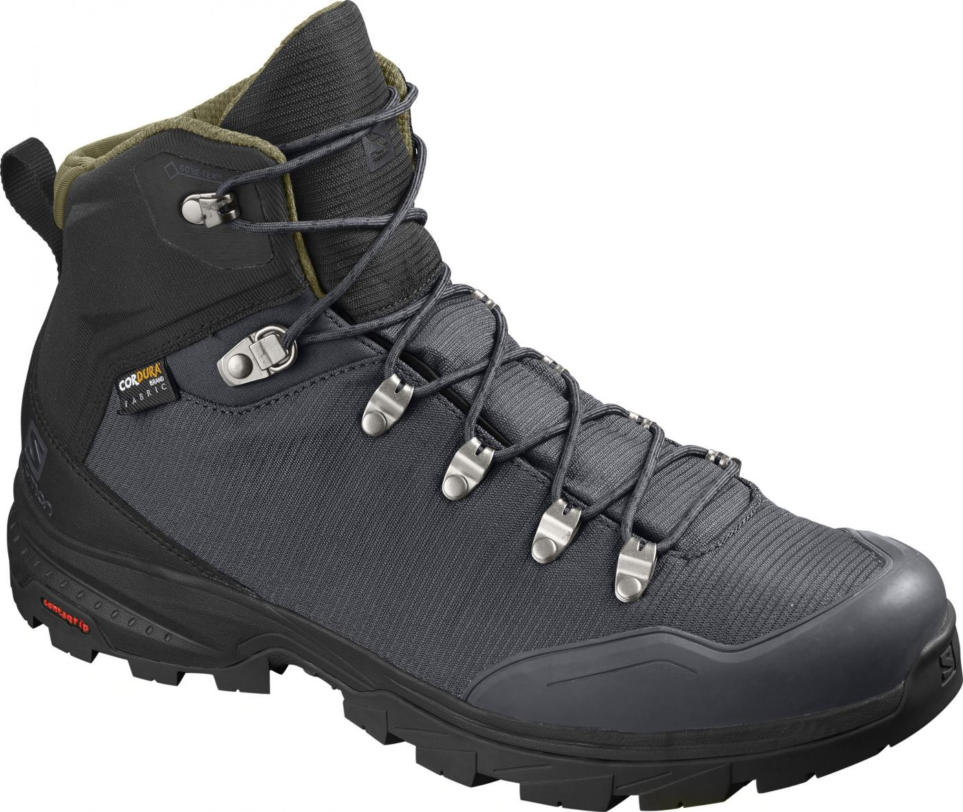 Turistická obuv Salomon OUTback 500 GTX Ebony/Bk/Grape
