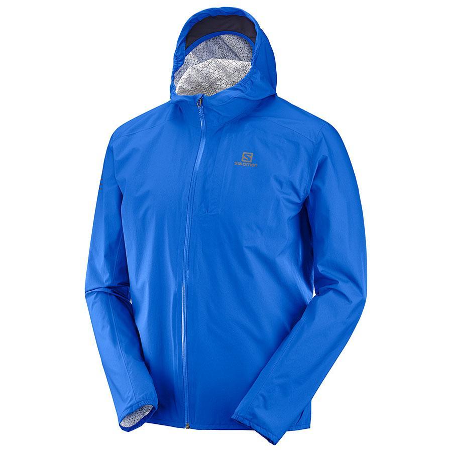 Bežecká bunda Salomon BONATTI WP JKT M Nautical Blue 81e5153234d
