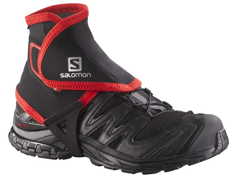 Návleky Salomon TRAIL GAITERS HIGH Black