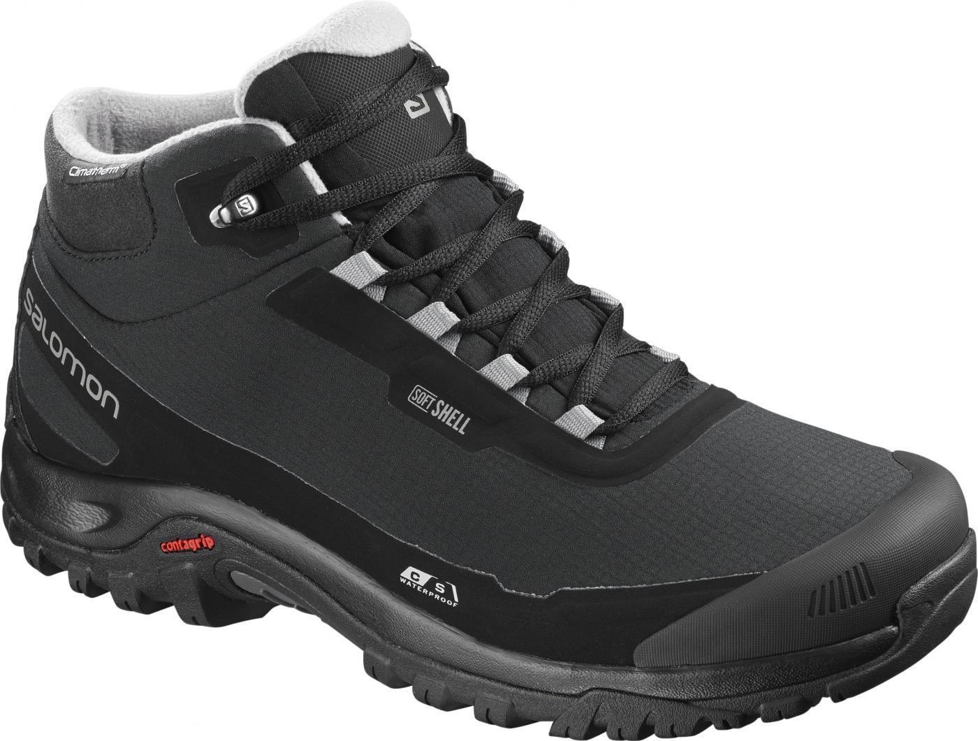 403904ed0 Zimná obuv Salomon SHELTER CS WP Bk/Bk/Frost Gray | sansport.sk