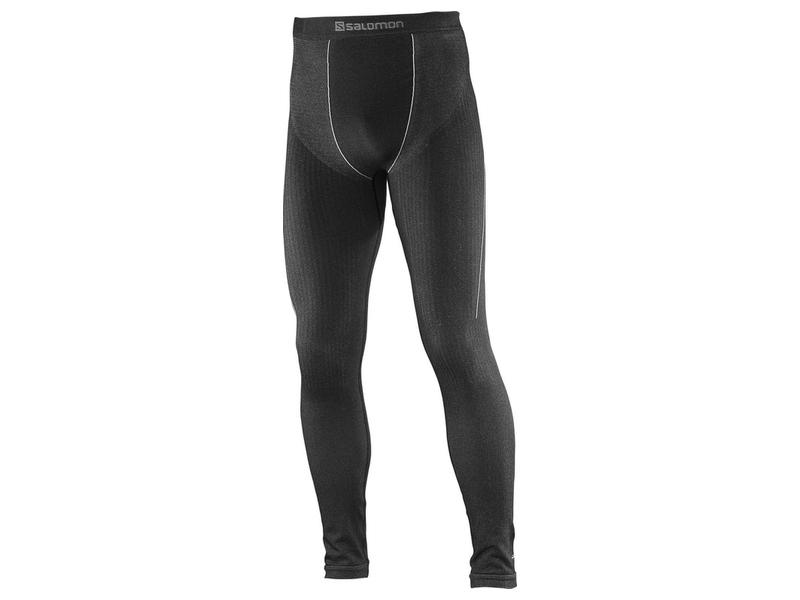 Termoprádlo Salomon PRIMO WARM TIGHT SEAMLESS Black