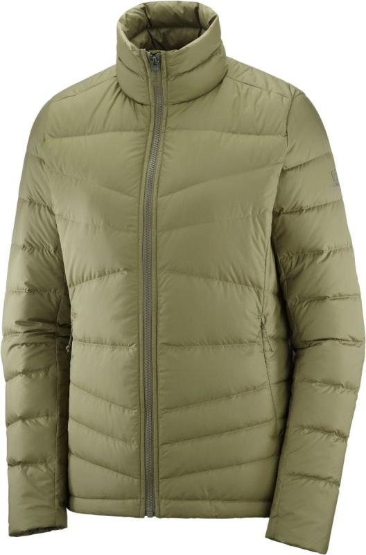 Dámska vetrovka Salomon TRANSITION DOWN JACKET W Martini Olive