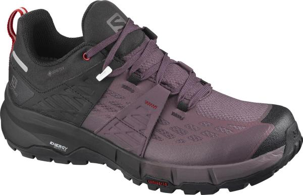 Pánska turistická obuv ODYSSEY GTX W Black/Flint/High Risk Red