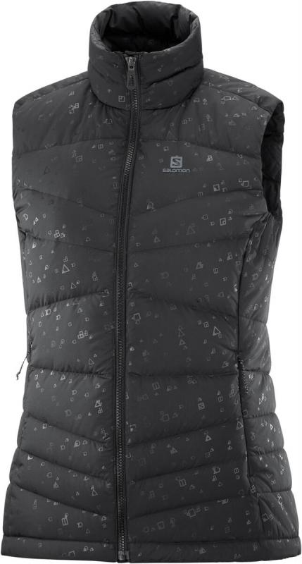 Dámska vesta Salomon TRANSITION DOWN VEST W Black/AO