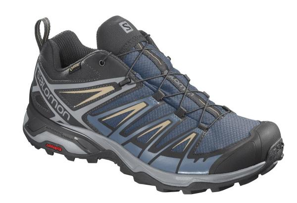 Pánska turistická obuv SALOMON X ULTRA 3 GTX Dark Denim / Copen Blue