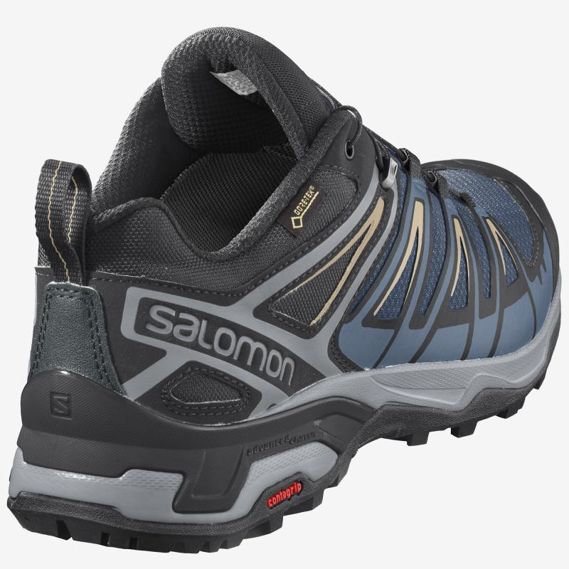 Turistická obuv SALOMON X ULTRA 3 GTX Black / Magnet / Quiet Shade