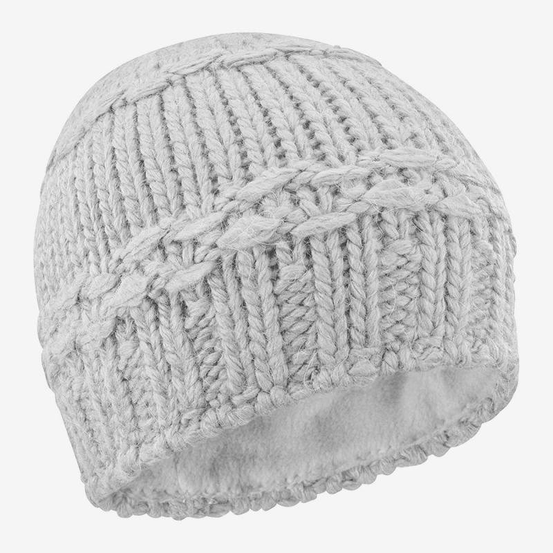 Čiapka Salomon DIAMOND BEANIE Natural