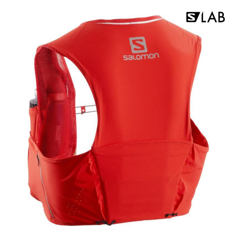 Bežecký batoh Salomon S/LAB SENSE ULTRA 5 SET Racing Red