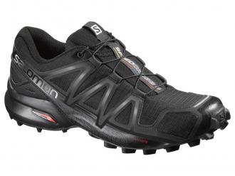 Trailová obuv Salomon SPEEDCROSS 4 W Black / Black Metallic