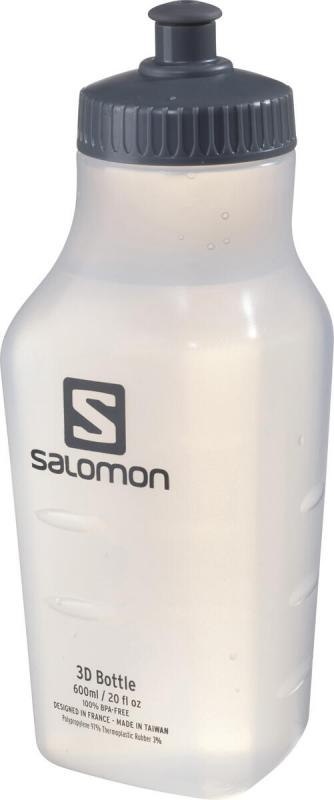 Fľaša Salomon 3D BOTTLE 600ml White Translucent
