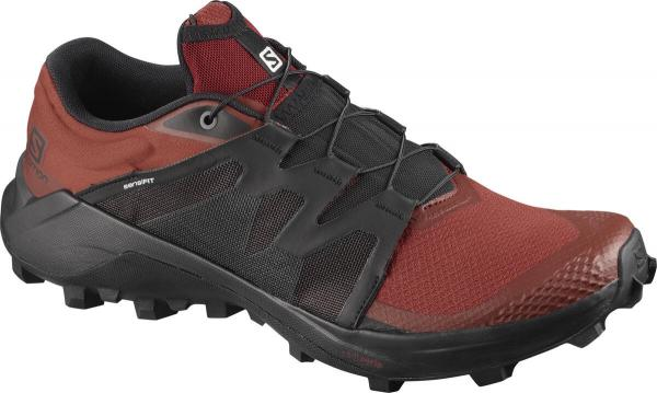 Trailová obuv Salomon WILDCROSS Dark Redoch/Black/Madder Brown