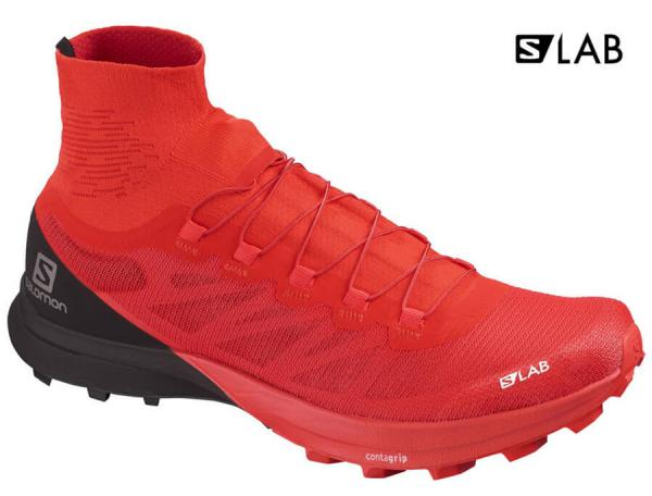 Bežecká obuv Salomon S/LAB SENSE 8 SG Racing Red / Black / White