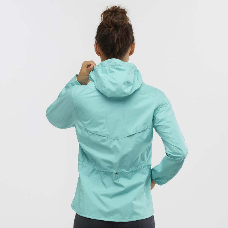 Bunda Salomon LIGHTNING WP JKT W Meadowbrook
