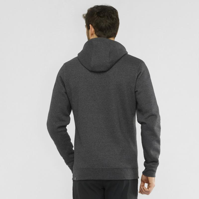 MIKINA SALOMON SHIFT FZ HOODIE M Black / Heather