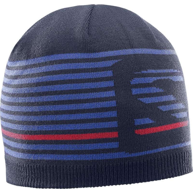Čiapka Salomon FLATSPIN SHORT BEANIE Night Sky