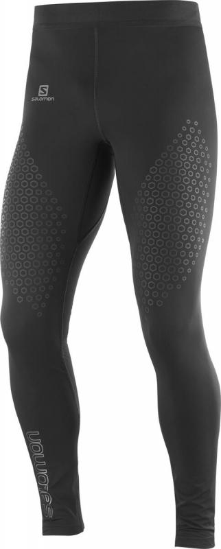 Nohavice EXO MOTION LONG TIGHT M Black