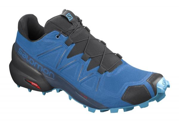 Pánska trailová obuv Salomon SPEEDCROSS 5 Indigo Bunting / Black / Ethernal Blue