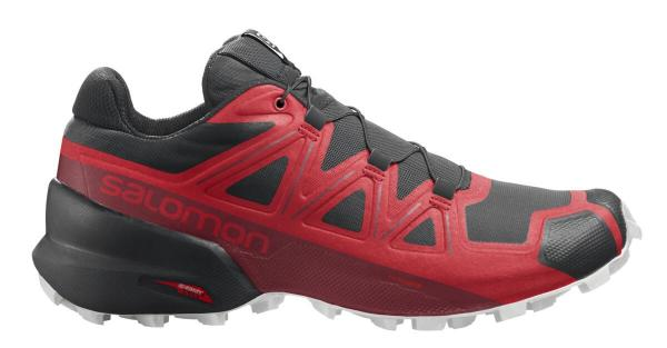 Pánska trailová obuv Salomon SPEEDCROSS 5 Goji Berry/White/Black