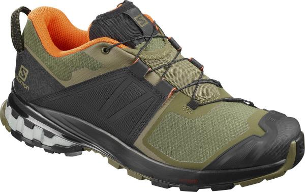 Pánska outdoorová obuv SALOMON XA WILD Burnt Olive / Black / Exotic Orange