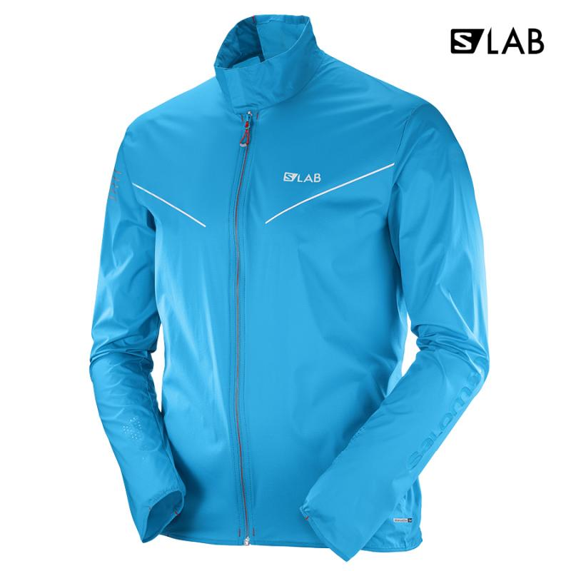 Bežecká bunda S/LAB LIGHT JKT M Transcend Blue