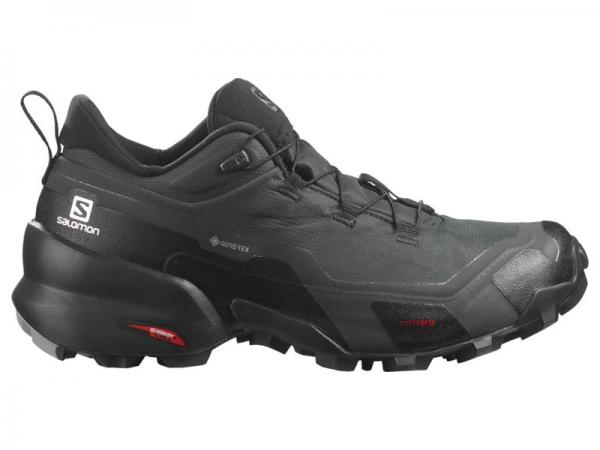 Dámska hikingová obuv Salomon CROSS HIKE GTX Phantom / Black