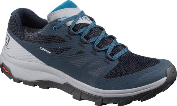 Turistická obuv Salomon OUTline GTX Navy Blaze / Quarry / Lyons