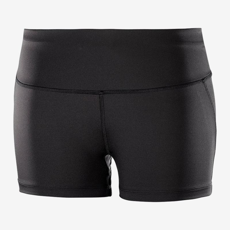 Nohavice Salomon AGILE SHORT TIGHT W Black