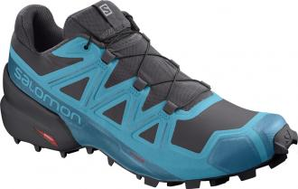 Trailová obuv Salomon SPEEDCROSS 5 Phantom / Caneel Bay / Black