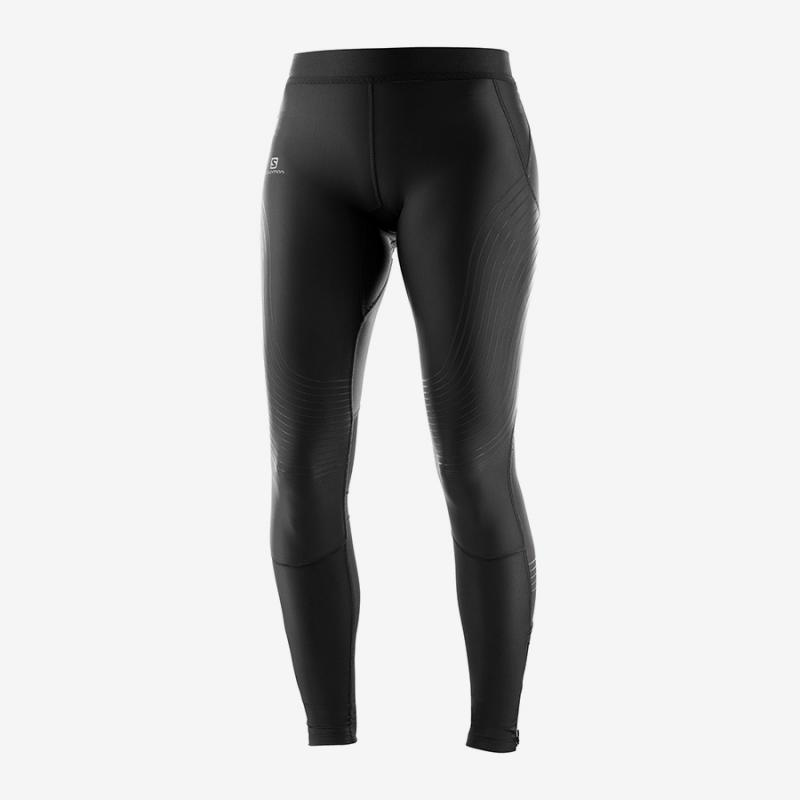 Dámske nohavice Salomon INTENSITY LONG TIGHT W Black