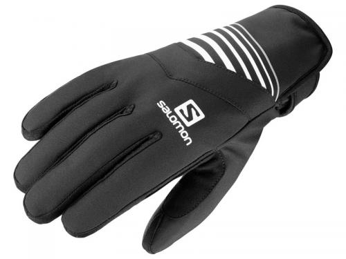 Rukavice RS WARM GLOVE U Black/White/Wh
