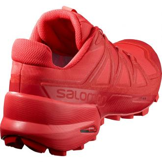 Trailová obuv Salomon SPEEDCROSS 5 HighRiskRed/BarbadosCherry