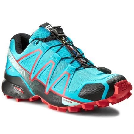 Trailová obuv Salomon SPEEDCROSS 4 W Blue Jay/Black/Infrared
