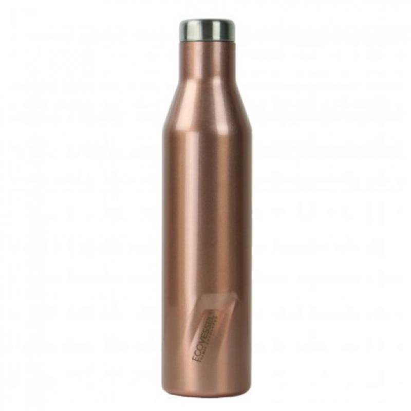 CELONEREZOVÁ TERMOFĽAŠA ASPEN ECO VESSEL - 750 ml ROSE GOLD