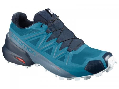 Trailová obuv Salomon SPEEDCROSS 5 Fjord Blue/Navy Blaze