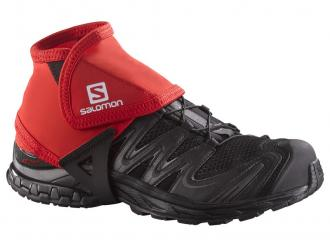 Návleky Salomon TRAIL GAITERS LOW Bright Red