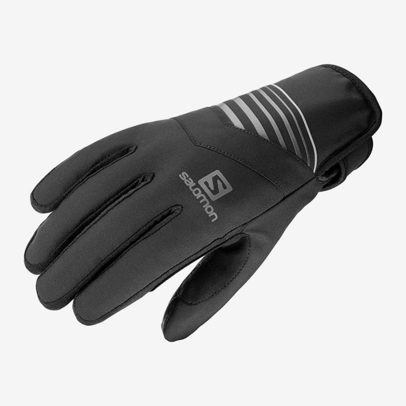 Rukavice Salomon RS WARM GLOVE U Black/Bk/Charco