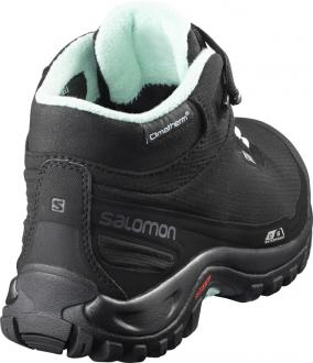 Dámska zimná obuv Salomon SHELTER CS WP W Black / Eggshell