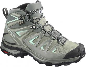 Obuv SALOMON X ULTRA 3 MID GTX W Shadow/CastorGray/BeachGlass