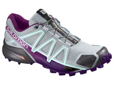 Trailová obuv Salomon SPEEDCROSS 4 W Quarry/Acai/Fair Aqu