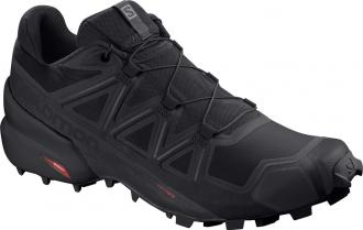 Trailová obuv Salomon SPEEDCROSS 5 Black / Black / Phantom