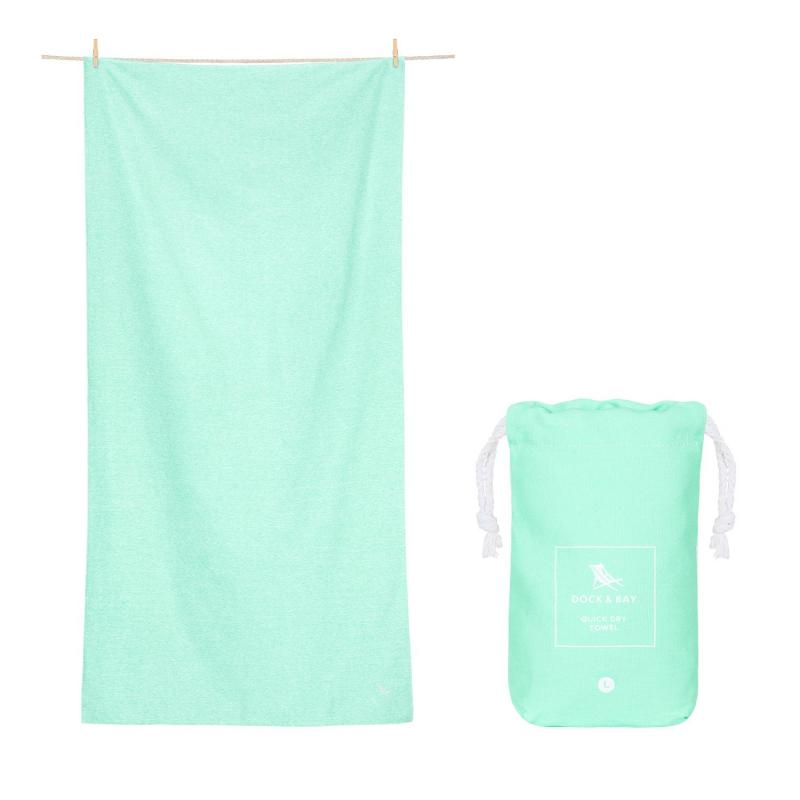 Uterák DOCK&BAY ACTIVE ECO Rainforest Green L