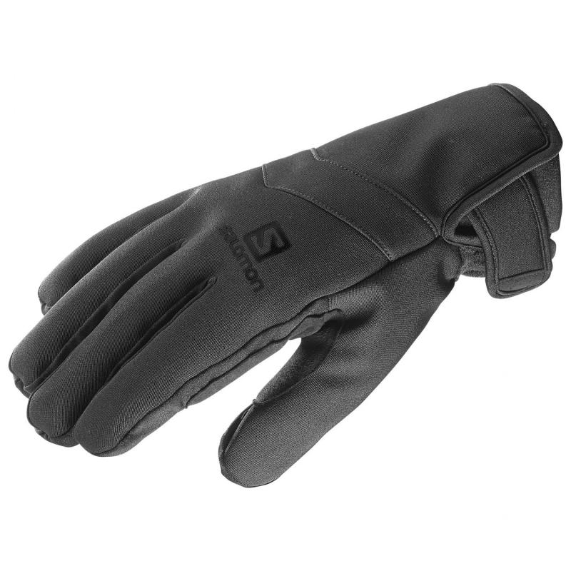 Rukavice Salomon RS WARM GLOVE M Black/Bk/Charco