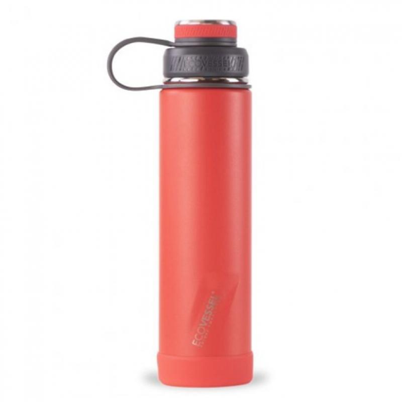 Nerezová termofľaša Eco Vessel Boulder 700 ml JAZZ RED