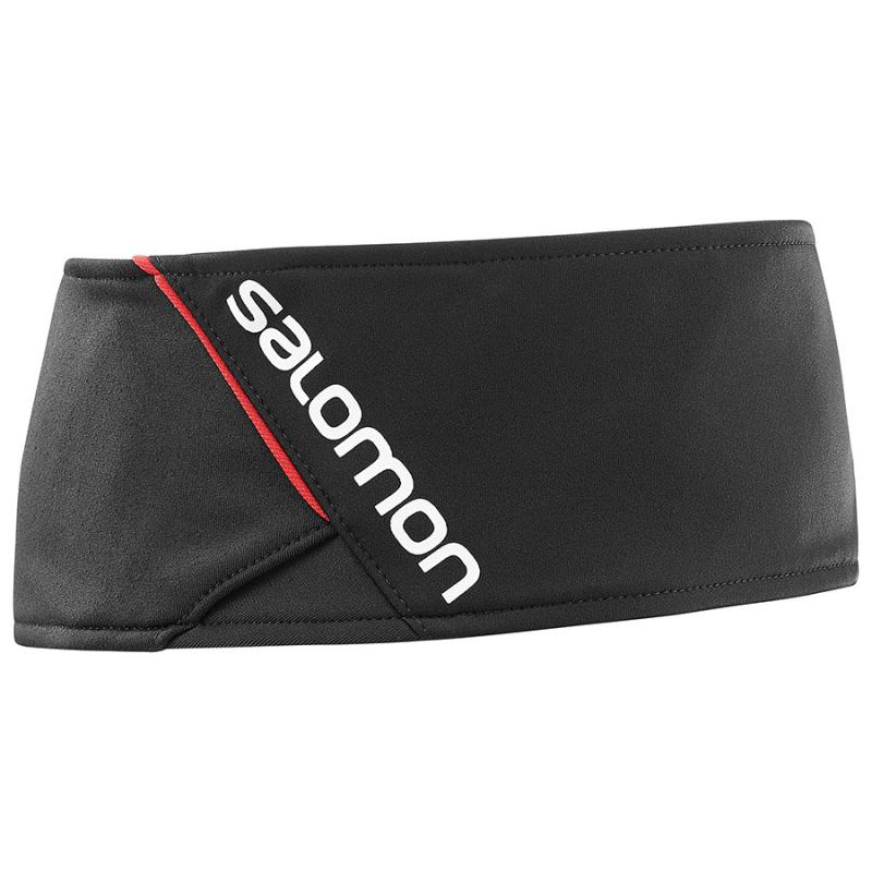 Čelenka Salomon RS HEADBAND Black / Bk / White