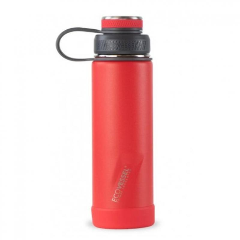 Termofľaša Eco Vessel Boulder 600ml Jazz Red