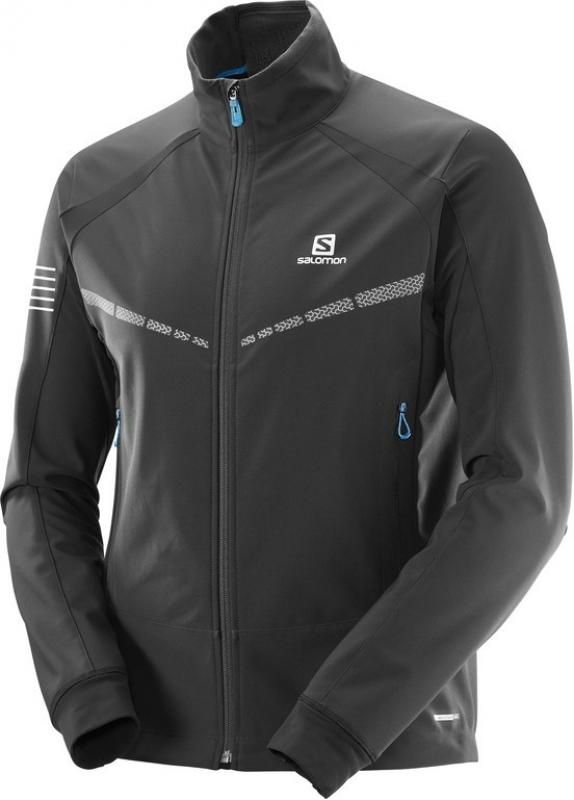 Bežecká bunda RS WARM SOFTSHELL JKT M Black