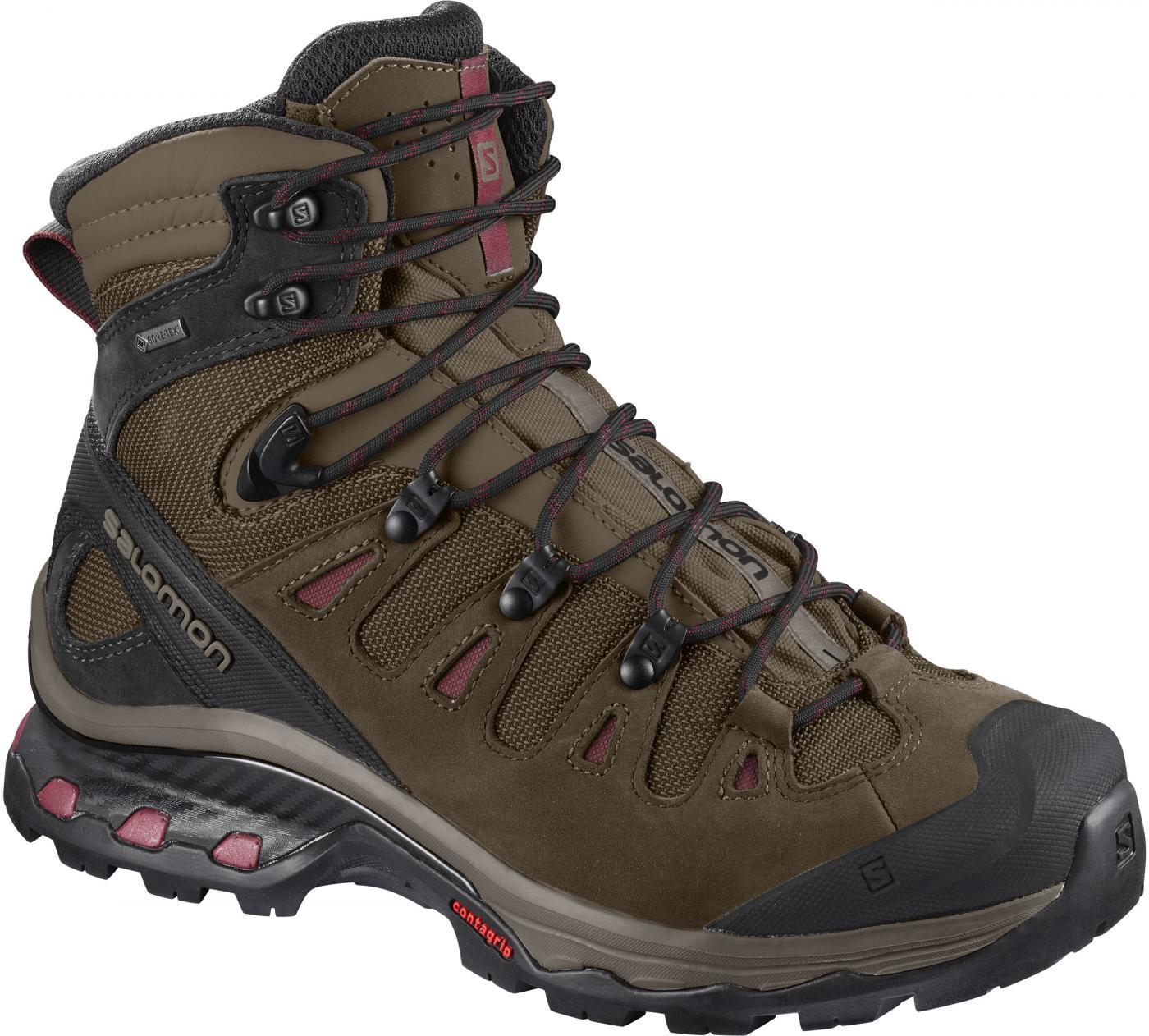 7e38142e9e7d Turistická obuv Salomon QUEST 4D 3 GTX W Teak Teak Tibe